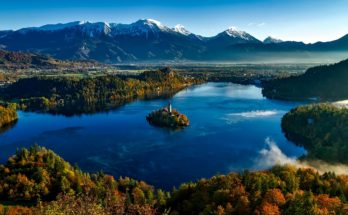 Озеро Блед в Словении - природная достопримечательность