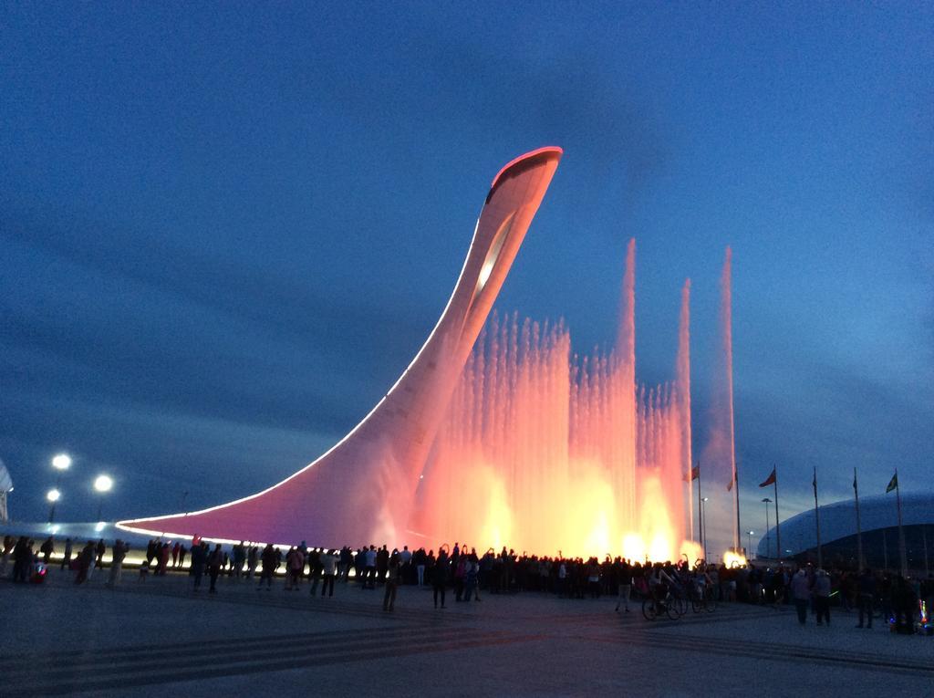 Поющие фонтаны в Сочи, Олимпийский парк
