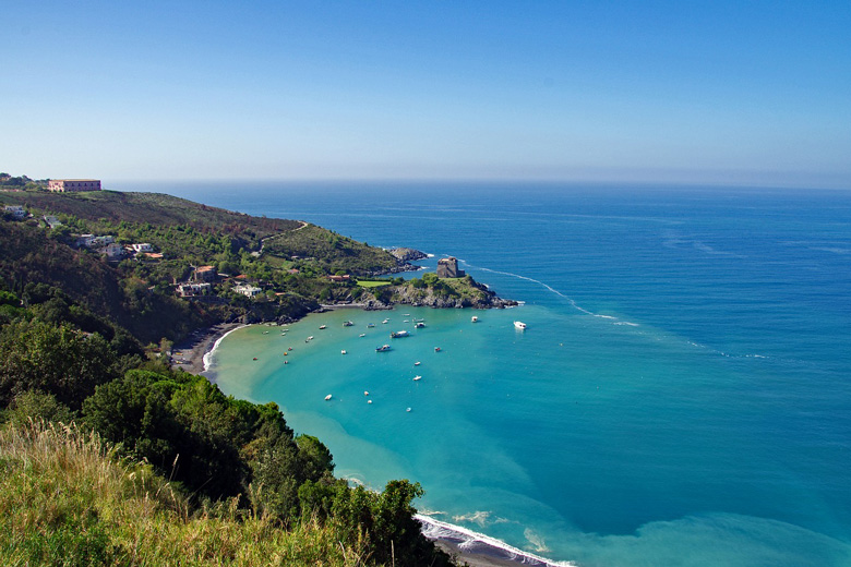 Пляжи в Калабрии, Италия