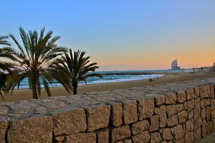 Пляжи Барселона, Испания