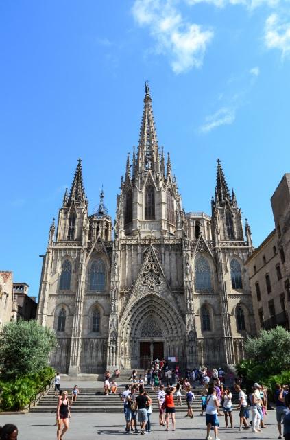 Кафедральный собор Барселоны, Испания