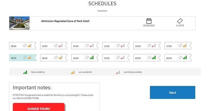 Парк Гуэль официальный сайт - как купить билеты онлайн, инструкция