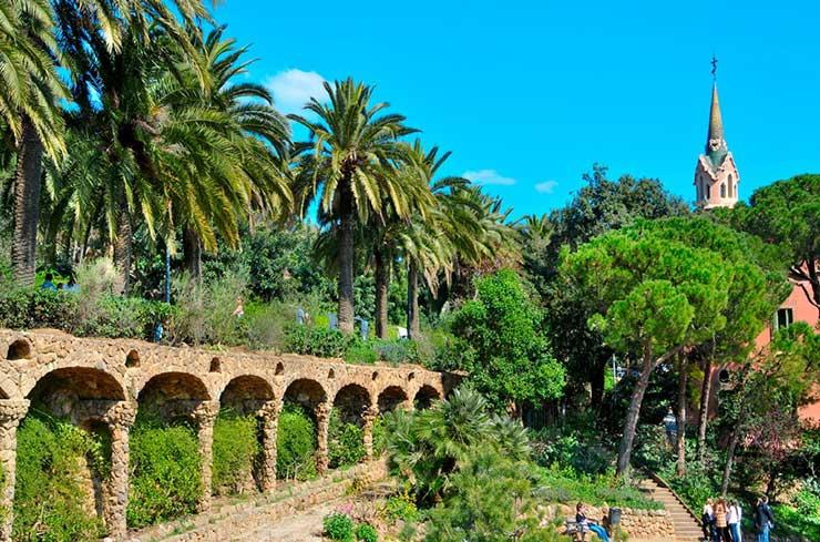 Парк Гуэль в Барселоне - купить билет на официальном сайте, как добраться на метро