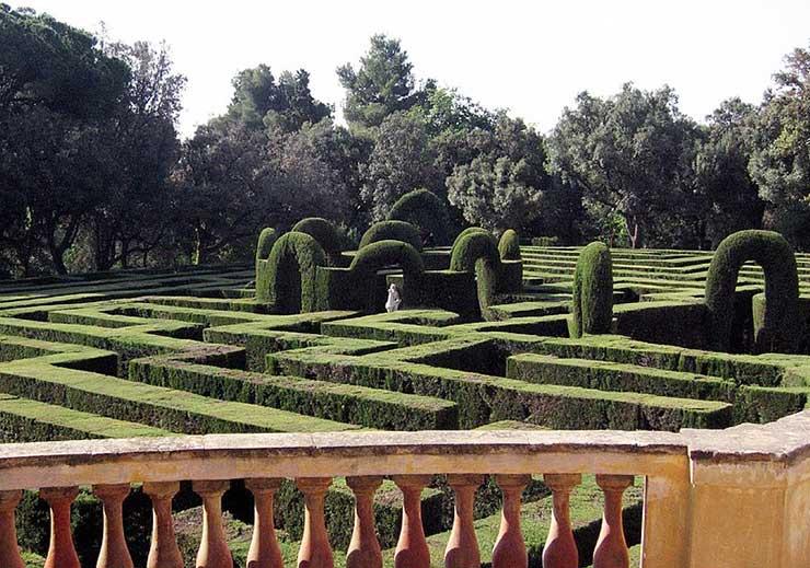 Парк Лабиринт Орта, Барселона, Испания