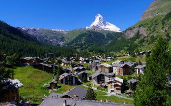 Лучшие горнолыжные курорты Швейцарии, отели в горах, отдых