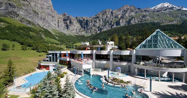 Лучшие горнолыжные курорты Швейцарии, отели в горах Лёйкербад
