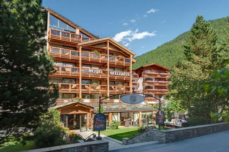 Лучшие горнолыжные курорты Швейцарии, отели в горах Bellerive