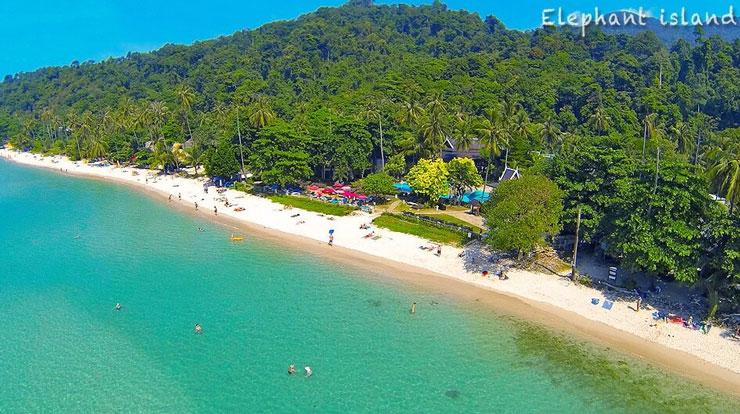 Лучшие острова Тайланда для отдыха - Ко Чанг, остров слонов