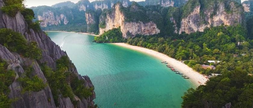 Лучшие острова Тайланда для отдыха - Рейли полуостров